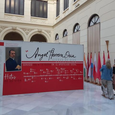Exposición sobre el Cardenal Herrera Oria
