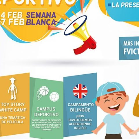Campamento bilingüe deportivo